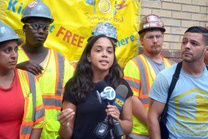 """We cannot thank them enough,"" said Assemblymember Latoya Joyner."