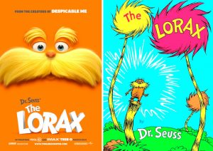 Adapted from Dr. Seuss' The Lorax.