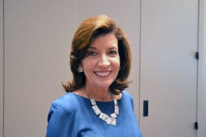 """We need [a woman's] perspective in the corridors of power,"" said Lt. Governor Kathy Hochul."