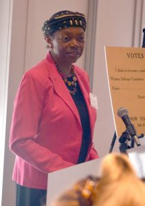 Senator Velmanette Montgomery is a member of the Commission.