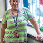 """They love to play,"" said Betances Senior Center Director Karen Reyes."