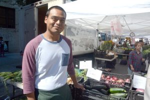 """We love to be a part of the process,"" said vendor Julian Nolasco."