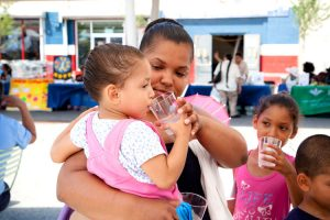 """The purpose is to get people, especially young people and children, to drink more water,"" said Luz Correa, UCHC's Director of Government, Community and Media Relations."