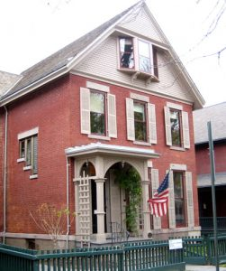 The house of Susan B. Anthony in Rochester.