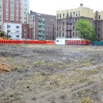 Development on this-now vacant lot is expected to be completed in 2018.