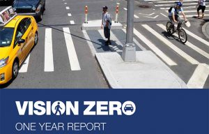 The initiative was part of the Vision Zero campaign.