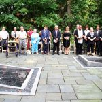 Tribute was paid on the fifteenth anniversary of the attacks.