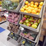Previously, the store had to store produce outside of the fridge.