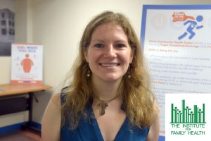 Kelly Moltzen is the Program Manager for The Institute for Family Health.