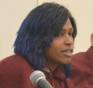 Olympia Pérez is an Afro-Latina Transwoman activist.