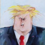 Trump by Marlene Pohle, Argentina.