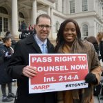 Councilmembers Mark Levine and Vanessa Gibson lend their support.