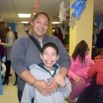 """It's a very welcoming place,"" said Shayling Reyes, here with her son."