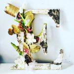 A dried flower arrangement by Kristina Schwartz.