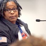 """We deserve and need a raise to support our families,"" said train operator Janice Carter."