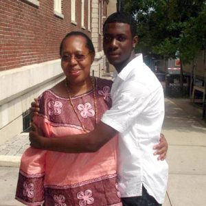 Ramarley Graham (right) was 18 years old when he was killed in 2012.