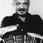 The Argentine tango composer Astor Piazzolla.