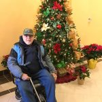 One of the sixteen veterans who has found a new home for the holidays.