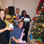 The event was celebrated as part of Operation Toy Drive NYC.