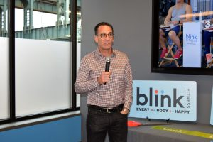 """We think this will be an absolute home run,"" said Blink Fitness President Todd Magazine."