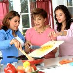 Involve older family members in tasks such as meal preparation.