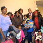 Community members, together with Councilmember Vanessa Gibson (center), visited the center.