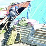 Residents are still waiting for aid to properly rebuild.
