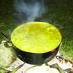 The soup joumou is traditionally served on Independence Day.