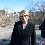 """""""Mixed income buildings make for stronger buildings,"""" said HPD Commissioner Vicki Been."""