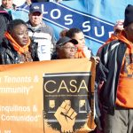 Members of Community Action for Safe Apartments (CASA).