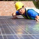 There has been an increase in solar installations.