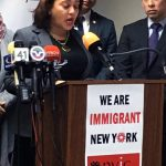 """We are not going to give up,"" said State Senator Marisol Alcántara."