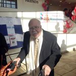 UHP Founder Dr. Richard Izquierdo at the ribbon-cutting.