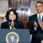 Sotomayor was nominated by President Barack Obama in 2009.
