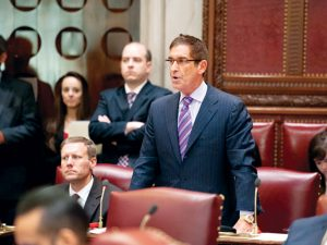 """We are living in a difficult time for immigrants,"" said State Senator Jeff Klein."