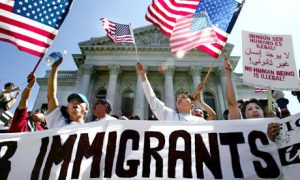 Immigrants rally in Washington, D.C.