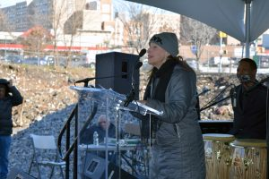 """Neighborhood residents have guided the work,"" said Nancy Biberman."