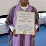 Bertha Lewis was honored for her activism.
