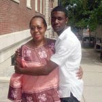 Ramarley Graham (right, here with family member) was shot and killed by NYPD officers in 2012.