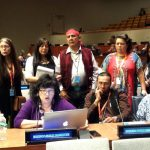 Members of the American Indian Law Alliance at the United Nations.