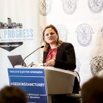 """""""It is illegal for the federal government to withdraw funds,"""" said Council Speaker Melissa Mark-Viverito."""