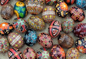 Pattern very own Pysanky.