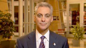 Mayor Rahm Emanuel of Chicago.