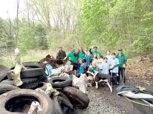 Keep the Bronx River clean. <br>Photo: Riverkeeper