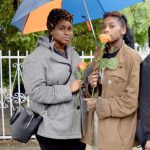 """""""It's really important to bring awareness,"""" said Erica Carr (left)."""