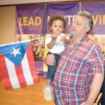 """My biggest hope is to see my grandson playing in the streets of a free Puerto Rico,"" said Nepher Rodríguez."