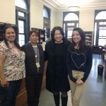 Supreme Court Justice Sonia Sotomayor paid a surprise visit in 2012 to the Hunts Point Library, her old branch.