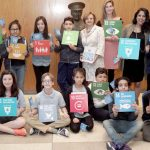 The students visit the United Nations.