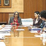 """We must continue having this dialogue,"" said Deputy Mayor Dr. Herminia Palacio."