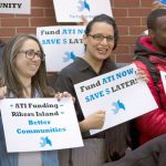 The coalition called for an additional $1 million in City Council funding.